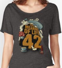 The Meaning of Life Women's Relaxed Fit T-Shirt