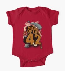 The Meaning of Life One Piece - Short Sleeve