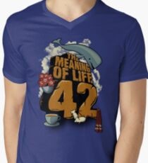 The Meaning of Life Men's V-Neck T-Shirt