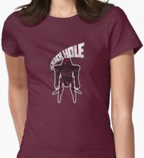 The Black Hole Maximilian Womens Fitted T-Shirt