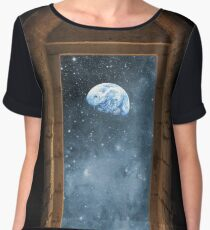 DOOR TO THE UNIVERSE Chiffon Top