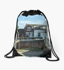 Fleetwood to Knott End Ferry - England Drawstring Bag