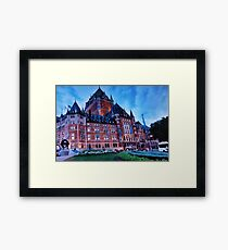 Chateau Frontenac - 2000 Framed Print