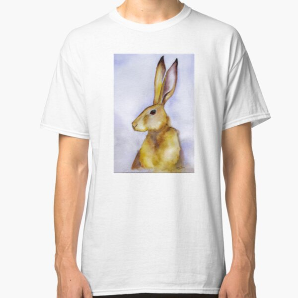 Henry - Portrait of a fine young hare Classic T-Shirt