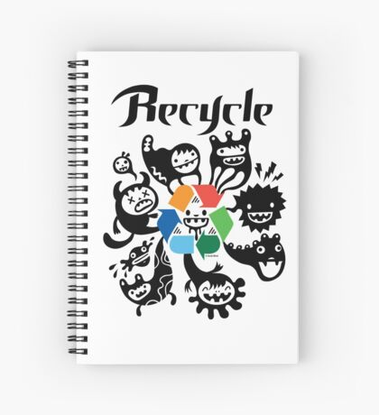 Recycle    Spiral Notebook