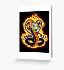 Cobra Kai Next Generation - Karate Kid Greeting Card