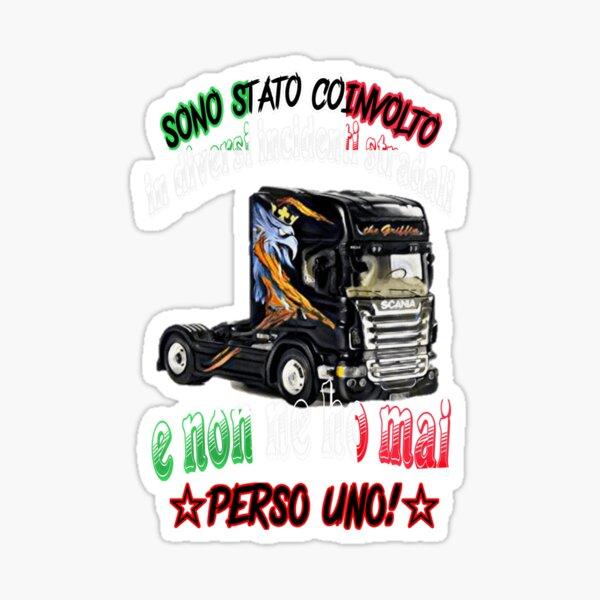 CAMIONISTA DI RAZZA Sticker