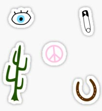 western stickers Sticker
