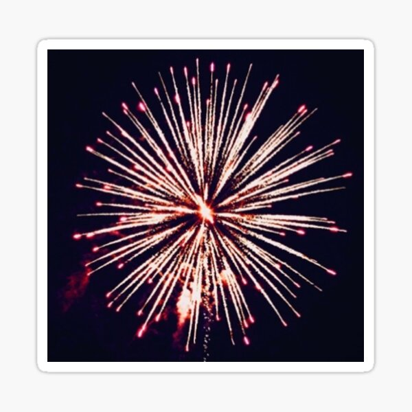Fireworks Sticker