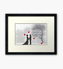 Winter Romance Framed Print