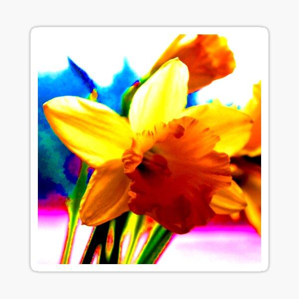 Technicolour Spring Sticker