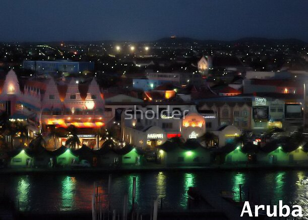 Welcome to Aruba at Night by sholder