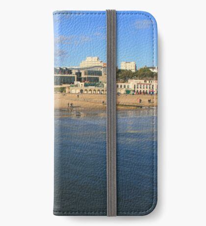 Sea Front, Bournemouth iPhone Wallet