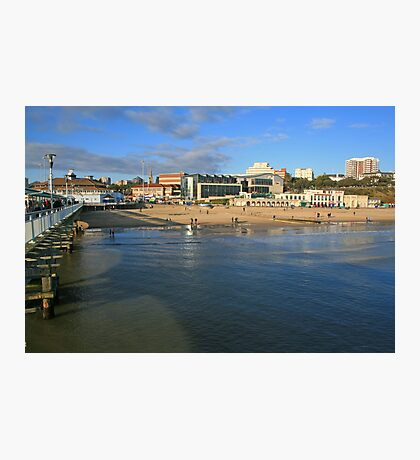 Sea Front, Bournemouth Photographic Print