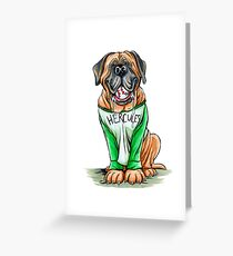 Hercules the Dog - Sandlot Greeting Card