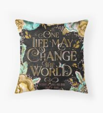 ACOWAR - One Life Throw Pillow