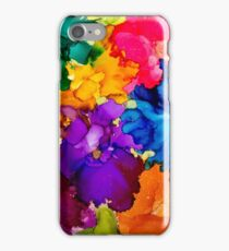 Tropical Explosion Original Alcohol Ink Artwork iPhone Case/Skin