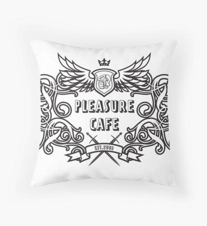 Pleasure Cafe Throw Pillow