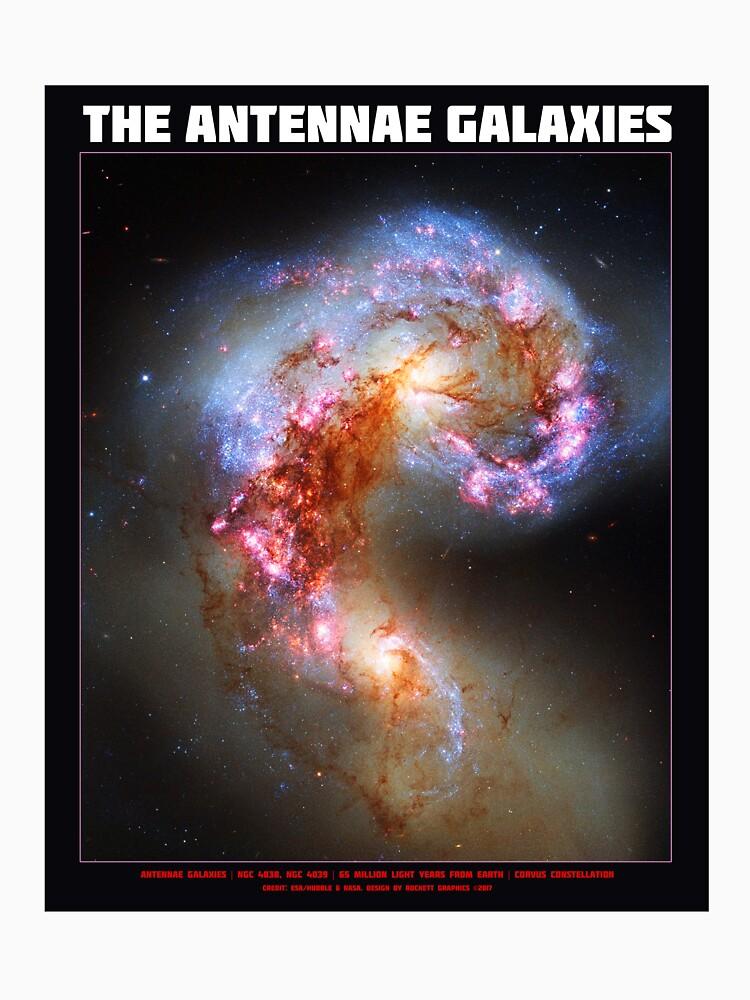 Die Antennen-Galaxien von HeadRubble