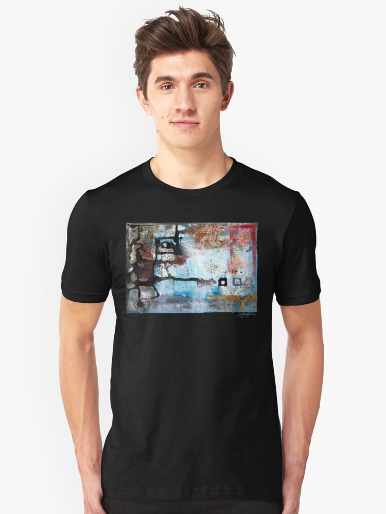 Lines of Growth Unisex T-Shirt Front