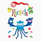 Recycle Monsters   by Andi Bird