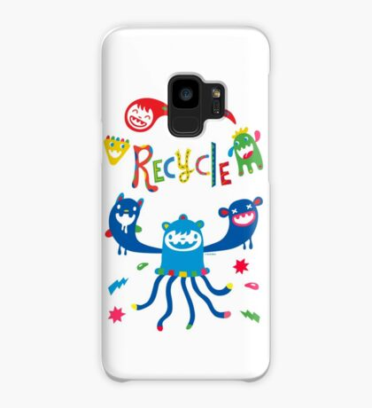 Recycle Monsters   Case/Skin for Samsung Galaxy