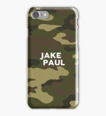 Jake Paul Green Moro Camo iPhone Case/Skin