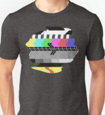 PM5544 GLITCH on tv Slim Fit T-Shirt
