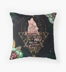 ACOWAR - Wolf Throw Pillow