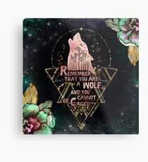 ACOWAR - Wolf Metal Print