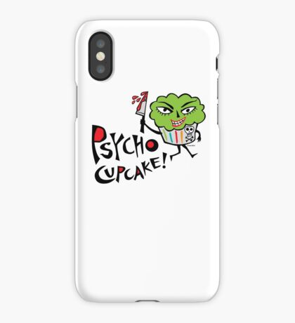Psycho Cupcake  iPhone Case