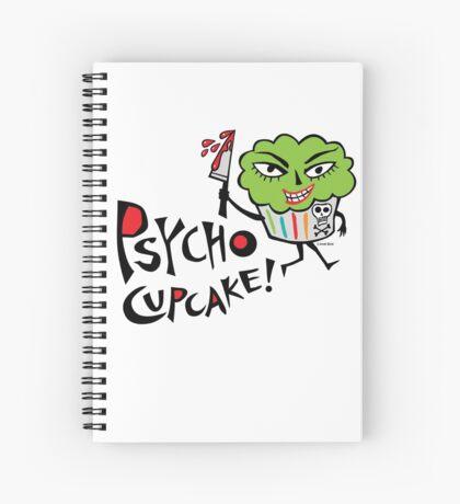 Psycho Cupcake  Spiral Notebook