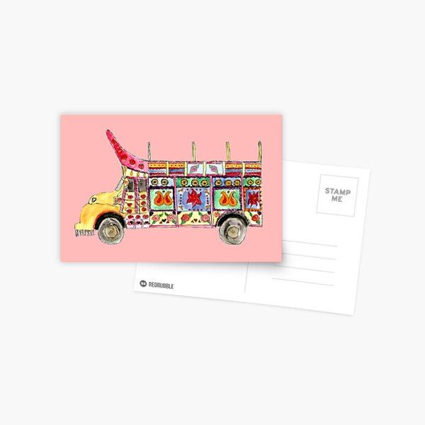 Truck Art Postcard