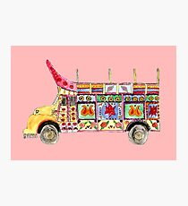 Truck Art Photographic Print