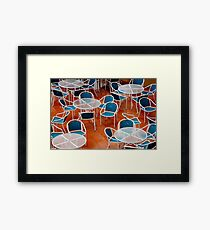 Chairs! Framed Print