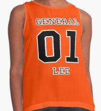 01 General Lee - The Dukes of Hazzard Contrast Tank