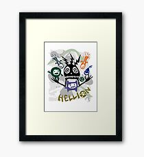 Hellion  Framed Print