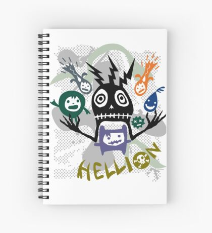 Hellion  Spiral Notebook
