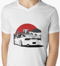Nissan 180sx 240sx Best Shirt Design Men's V-Neck T-Shirt