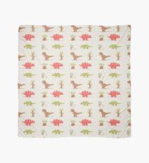 Dinosaurier-Muster - süße Illustrationen Tuch