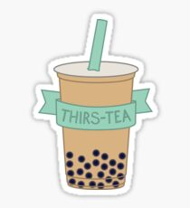Thirs-TEA Sticker