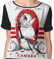 Canadian Pride! Women's Chiffon Top
