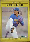 281 - Bill Krueger by Foob's Baseball Cards