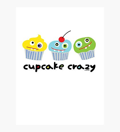 Cupcake Crazy  Photographic Print
