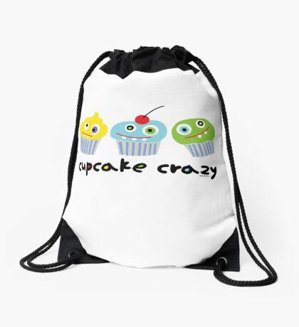 Cupcake Crazy  Drawstring Bag