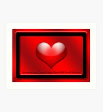 My Heart Art Print