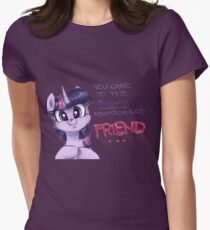 Friendship <3 Womens Fitted T-Shirt
