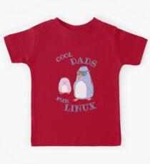 Cool Dads Run Linux Kids Tee