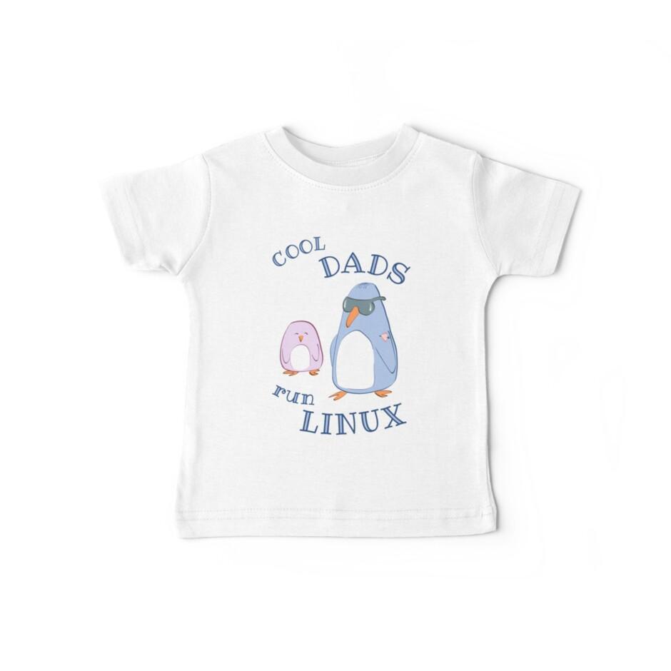 Cool Dads Run Linux by MaijaR