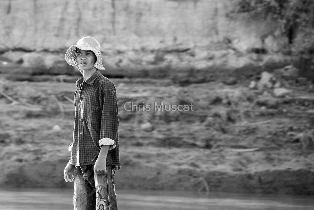 Mekong River by Chris Muscat